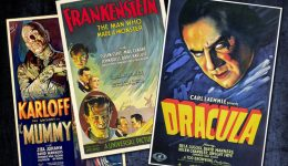 universal horror movie posters