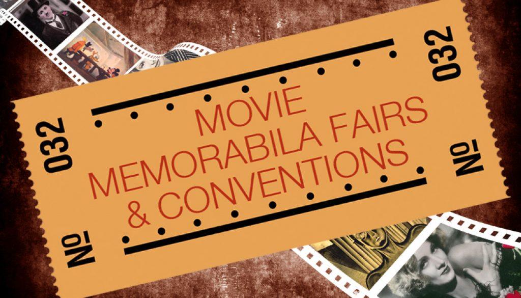 movie memorabilia events