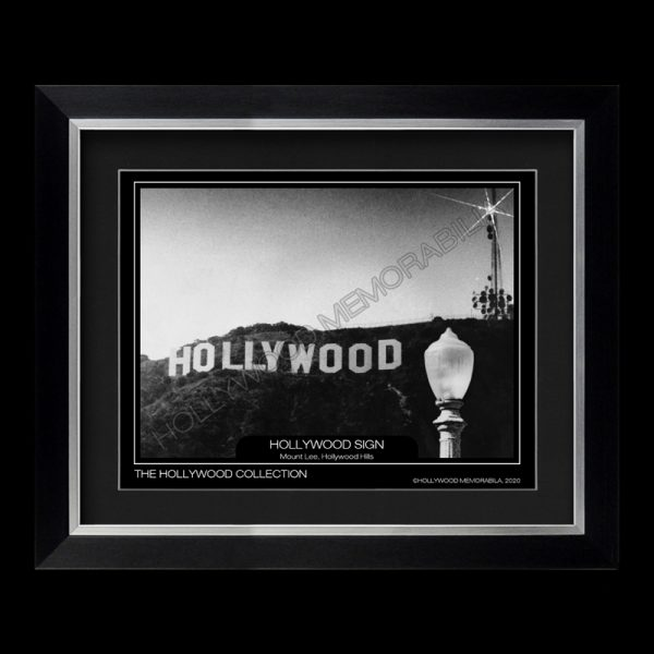 hollywood sign photograph