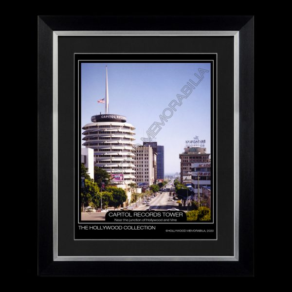 capitol records tower hollywood photograph