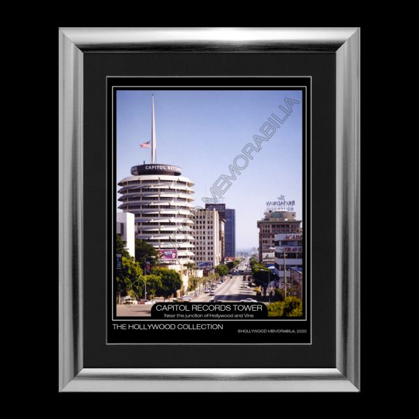 capitol records tower hollywood print