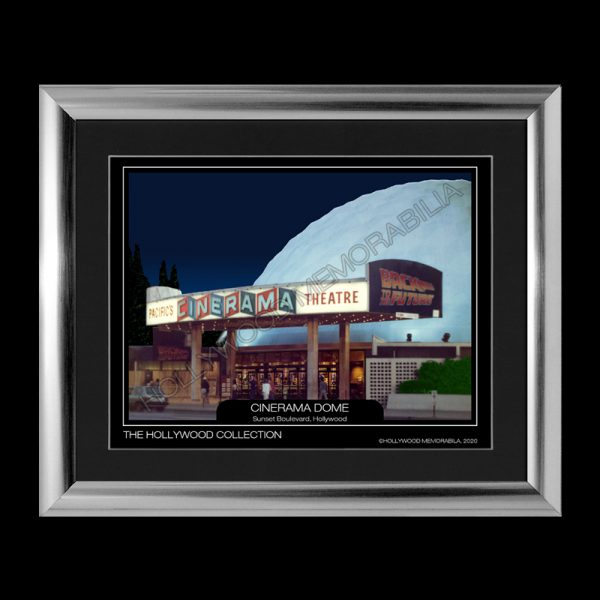 cinerama dome hollywood print