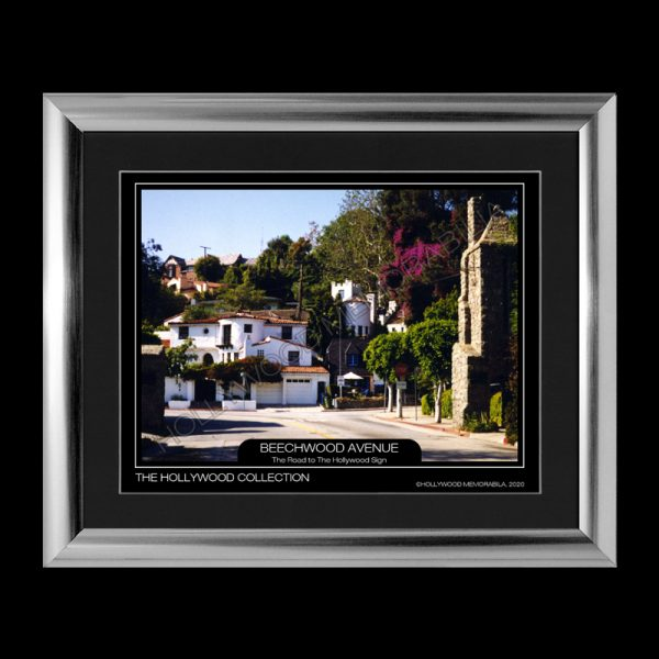 hollywood hills print