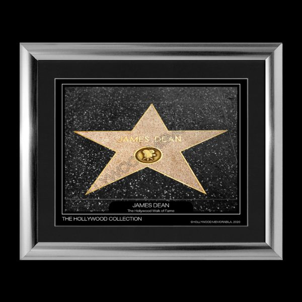 james dean walk of fame star print