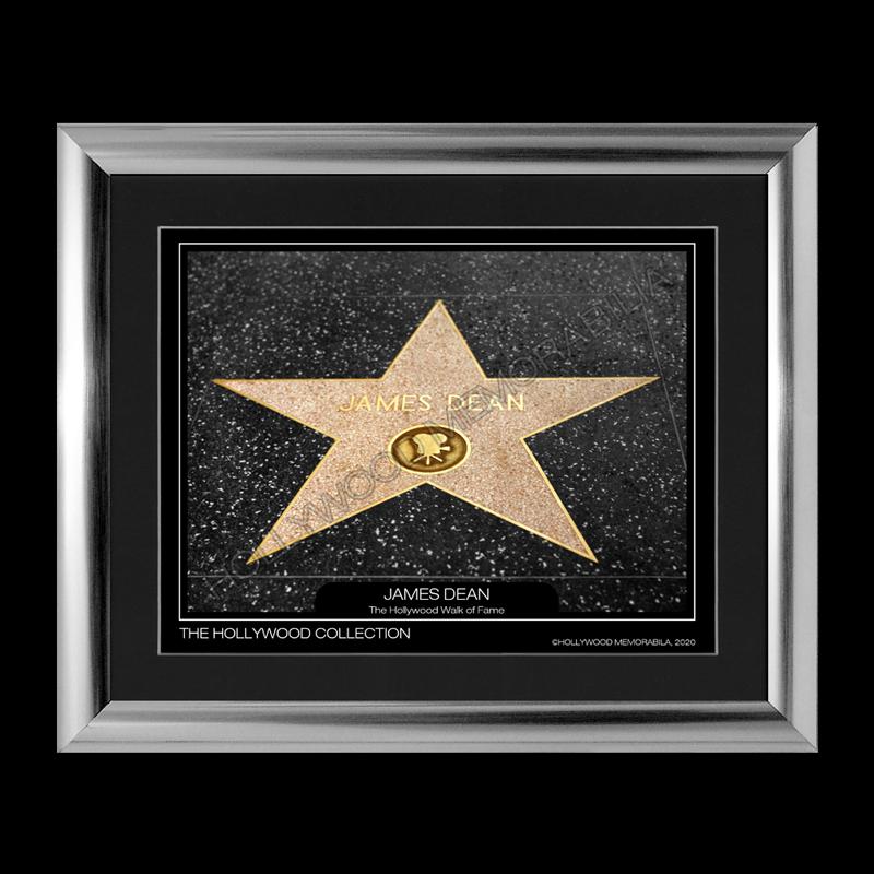 james dean walk of fame star print